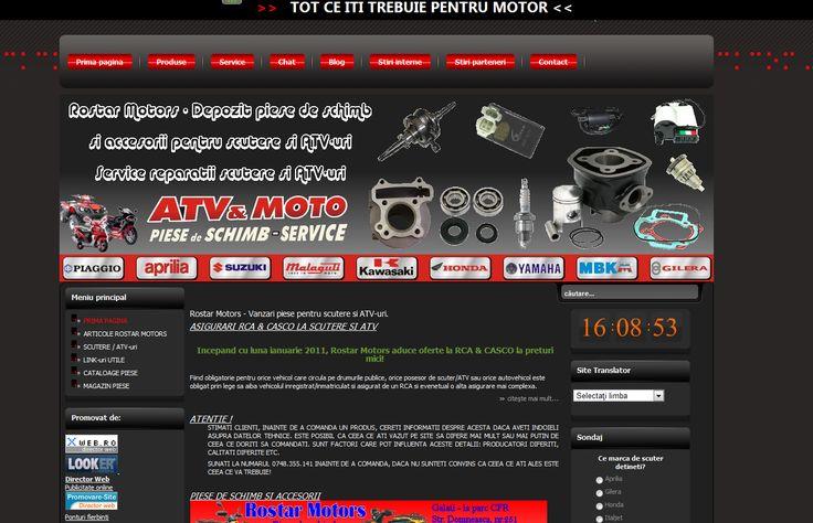 Rostar Motors: Piese scutere si ATV