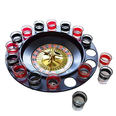 Roulette Adult Drinking Game Stag Hen Fun Party Drink Games Alcohol Shots