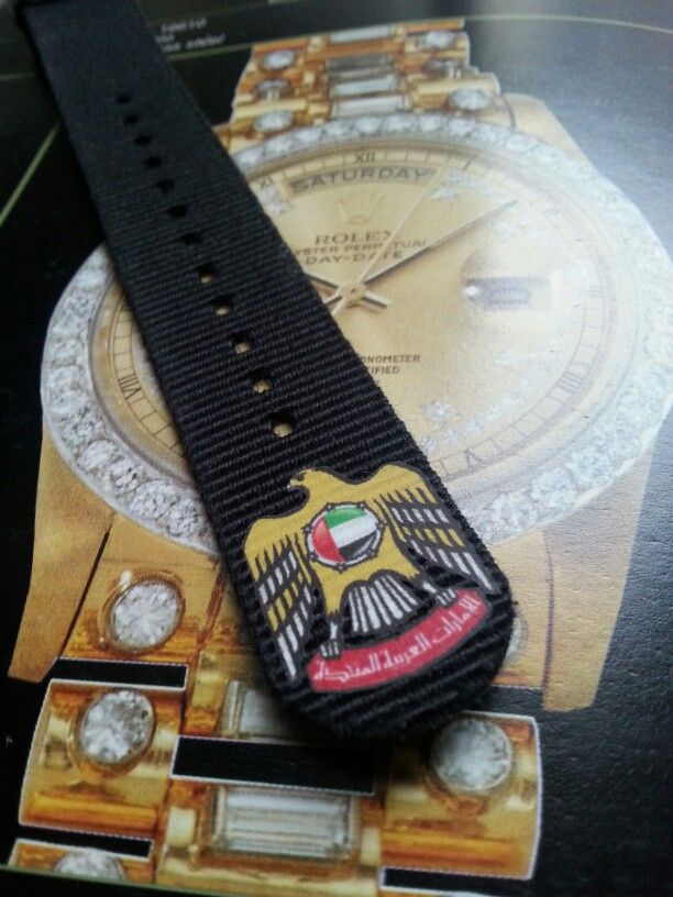 uae nato strap luxury dubai arab
