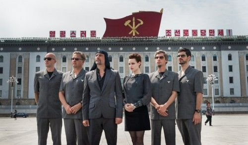 LAIBACH (band) Concert in North Korea.  Liberation Day movie