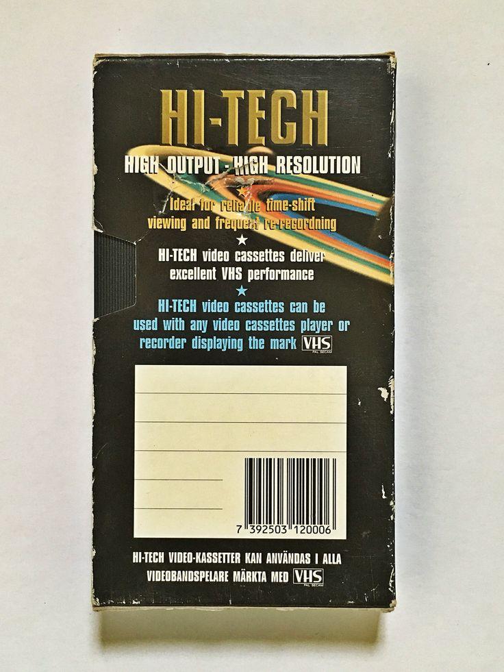 Hi-Tech Videocassette back
