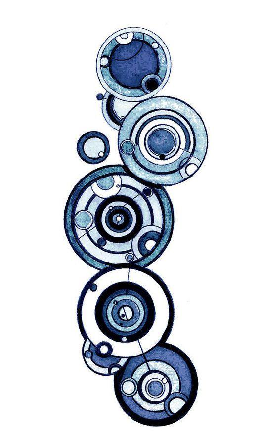 Купить Чехол для телефона Доктор Кто - синий, орнамент, чехол для телефона, чехол, чехол для мобильного