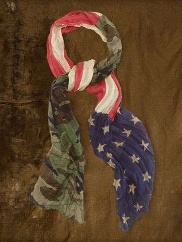 Camo American Flag Scarf - Denim & Supply  Scarves - RalphLauren.com