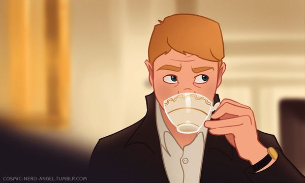 """What The BBC's """"Sherlock"""" Might Look Like As An Animated Series <-- just beautiful."""