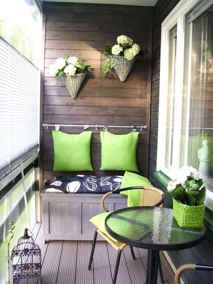 Green Touch In Balcony Decor For Fresh Look Decorating Ideas Cozy Gathering Spot Interior Category