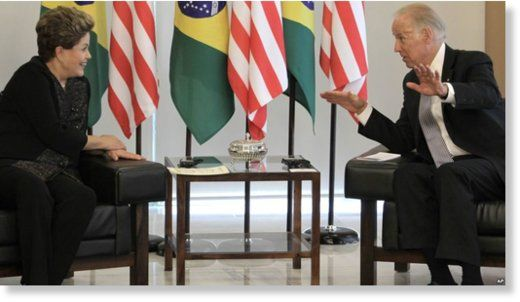 "William Engdahl New Eastern Outlook Sat, 24 Sep 2016 00:00 UTC   Biden: ""You see Dilma, we want everything – everything. And we'd be willing to give you a cut if only you'd … USA & ALLIES SATANIC CABALA CONTINUE SWALLOWING COUNTRIES LIKE GREECE AND BRAZIL.  IT'S TIME TO STOP THEM IN THEIR TRACKS. TIME FOR ALL  COUNTRIES OF THE WORLD TO UNITE AGAINST THEM. https://winstonclose.me/2016/09/25/washington-attempts-to-break-brics-wholesale-privatization-and-rape-of-brazil-begins-bywilliam-engdahl/"