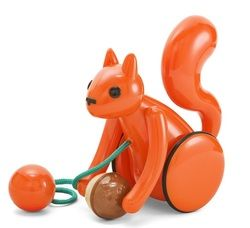 Kid O Squirrel Pull Toy $30.29 - from Well.ca