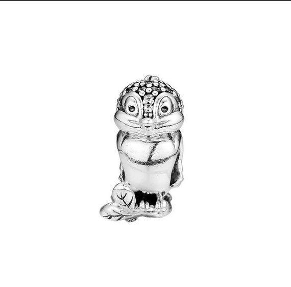 Snow White Bird Sterling Silver Disney Charm