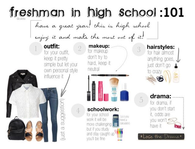 """Freshman advice"" by cxllette ❤ liked on Polyvore"