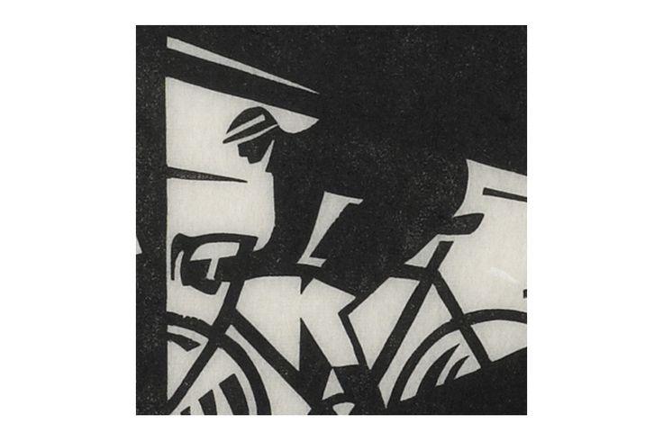 Dunwich Dynamo Cycling Print by Andrew Pavitt