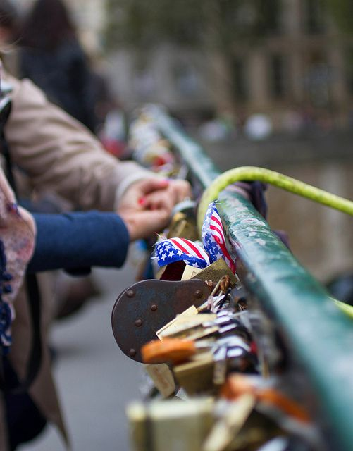 Love Locks in Paris - have you done this while in Paris? #Paris #travel #France