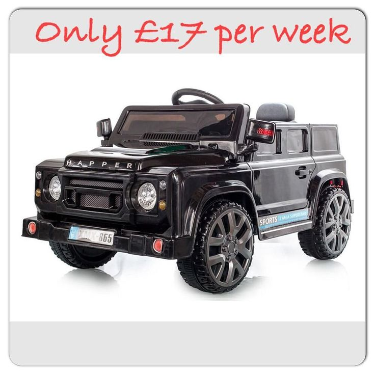 Land Rover Defender style 12 volt Complete with working front & rear lights front and rear suspension and even opening doors the defender 12v electric jeep is a worth contender for ride on of the year. Only 17 per week for 15 weeks #landroverdefender #offroad #12volt #paymentplan by valuetoysuk Land Rover Defender style 12 volt Complete with working front & rear lights front and rear suspension and even opening doors the defender 12v electric jeep is a worth contender for ride on of the…