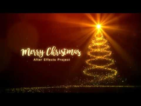 "After effects template ""Christmas"""