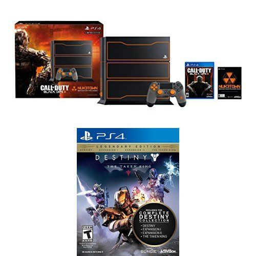 PlayStation 4 1TB Console  Call of Duty Black Ops 3 Limited Edition Bundle with Destiny The Taken King * More info could be found at the image url.Note:It is affiliate link to Amazon.