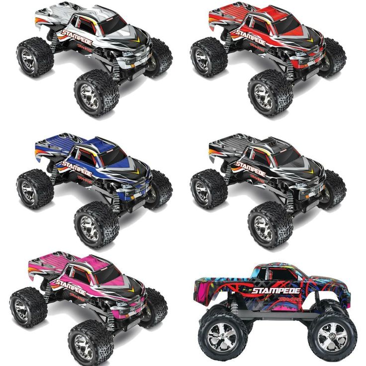 Buy your Traxxas Stampede Monster Truck with iD Technology (TRA36054-1) at RC Planet and save on all our Traxxas parts and accessories.