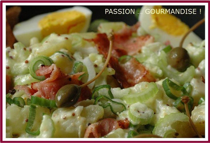 Super bonne salade de pommes de terre !