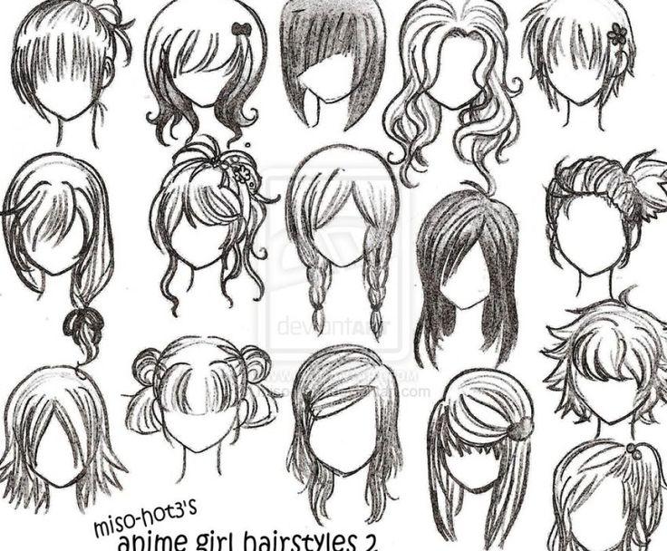 chibi hairstyles hiiiiiiiiiiiiiiiiiiii - 13 Best Drawings By Me Images On Pinterest