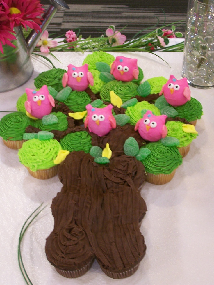 1000 images about baby owl cupcake tree on pinterest