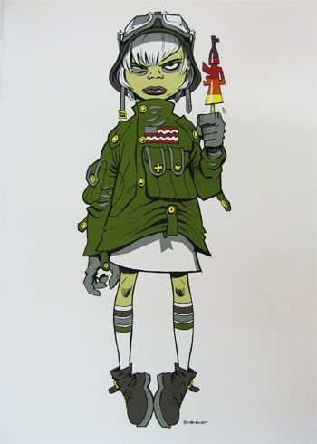 Jamie Hewlett - M16 Assault Lolly