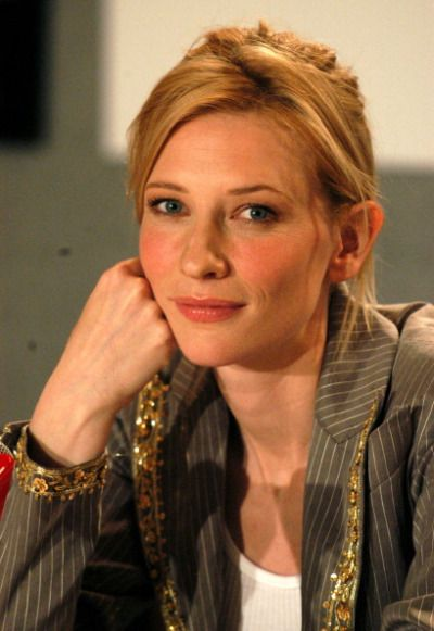 Cate Blanchett during 2003 Toronto Film Festival Veronica Guerin Press Conference at Delta Chelsea Hotel in Toronto, Ontario, Canada.