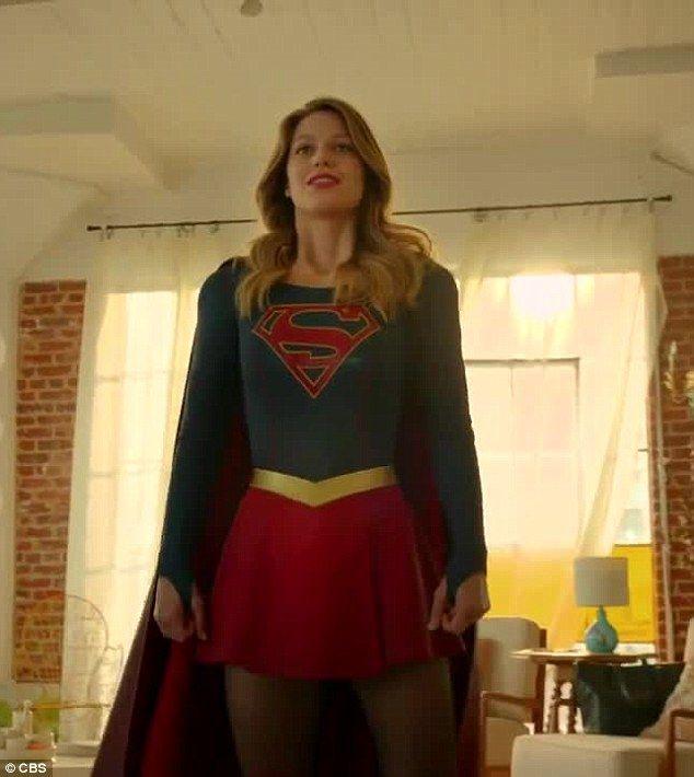 Supergirl , starring Melissa Benoist ®....#{T.R.L.}