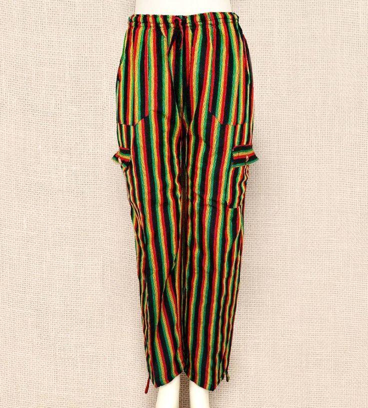 Calças unissex em algodão.  Esta nas cores rasta por apenas R$ 6990  Peça a sua pelo nosso Whatsapp: 13982166299