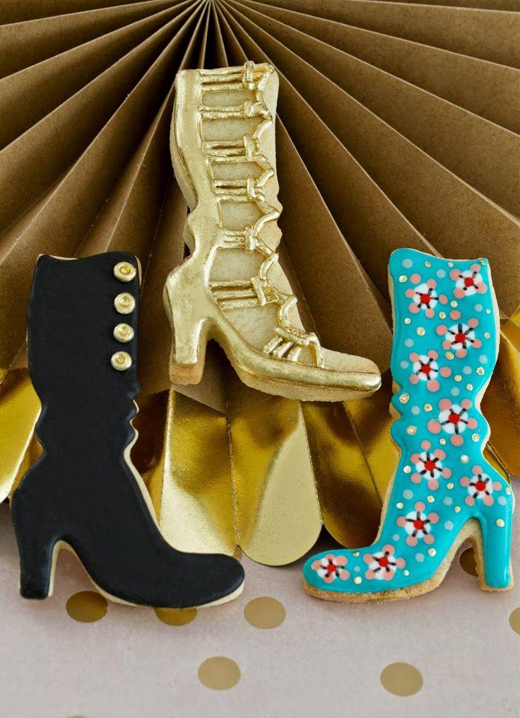 Galletas decoradas zapatos Patricia Arribálzaga