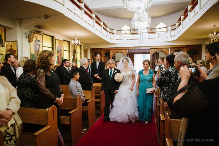 All Saints Greek Orthodox Church Wedding