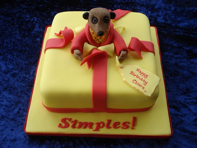 Please, please, please - someone ask me to make a Meerkat cake!!! ;o)