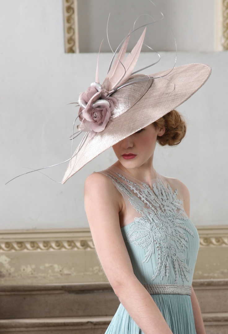 An elegant new design for 2013 by Jane Taylor Millinery @JTmillinery www.furlongfashion.com
