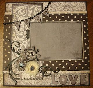 sher scrapbook wedding layouts