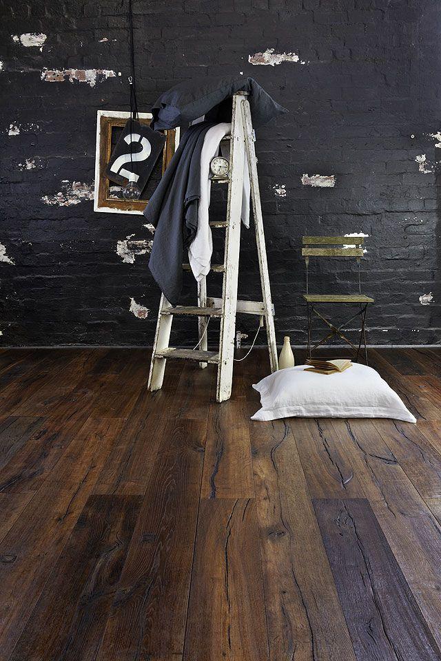 Royal Oak Floors Col. Antique Ale Brown. The walls + floor = interior magic