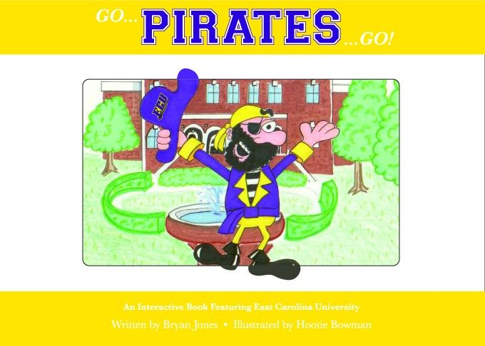 Collegiate Kids Books Store - East Carolina University, $19.95 (http://store.collegiatekidsbooks.com/east-carolina-university/)