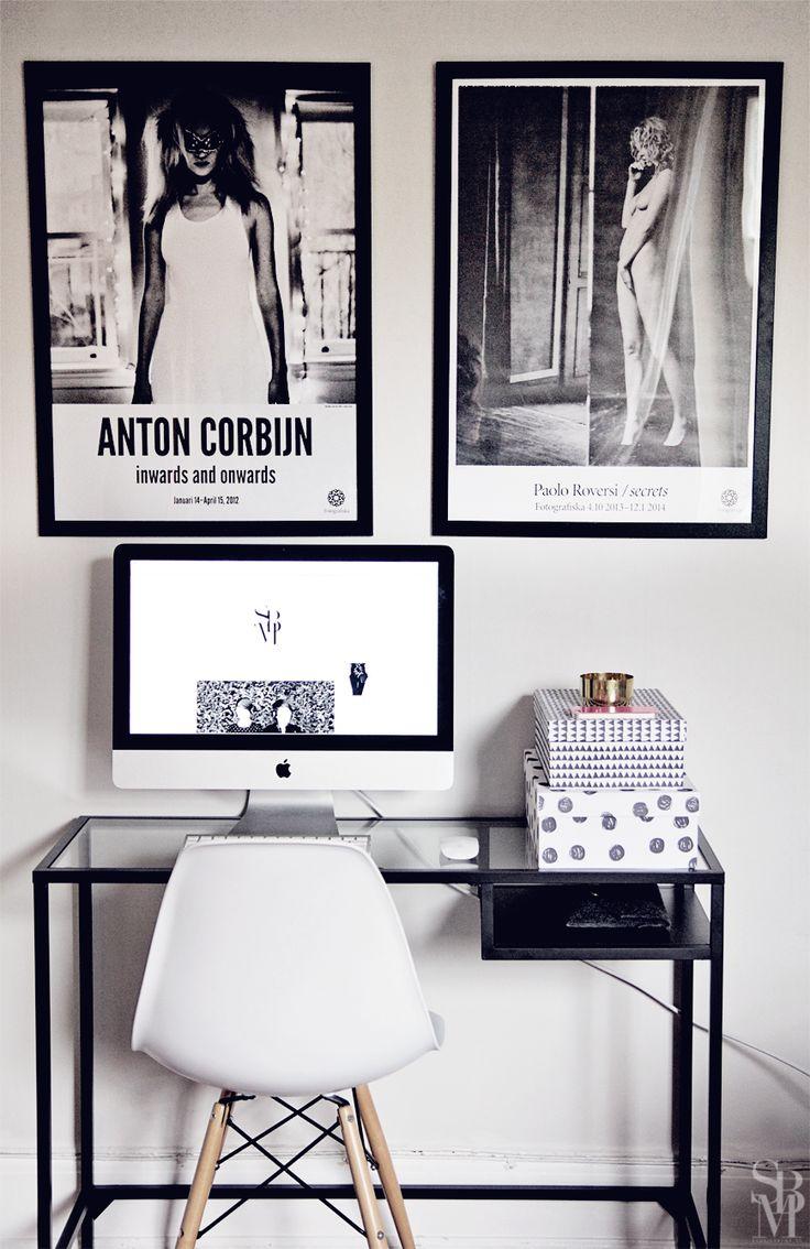 My home office (vittsjö desk from IKEA)