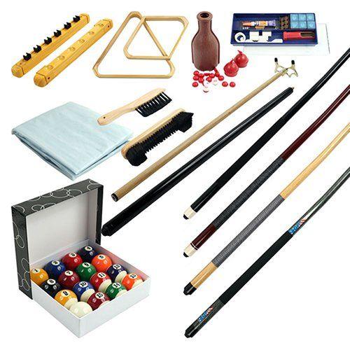 Have to have it. 32 Piece Billiards Accessories Kit - $129.99 @hayneedle