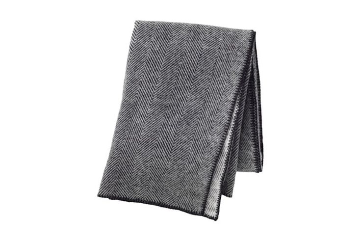 Strimlonn Throw, $49.99Wool is a solid investment, as it will outlast many synthetic materials and is guaranteed to keep you warm and cozy.