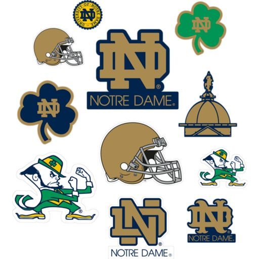 photobooth Notre Dame Fighting Irish - Team Logo Assortment - Notre Dame Fighting Irish - College Sports