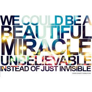Invisible ~ Taylor Swift ( One of my favorite songs )