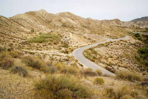 Roads in Tabernas Dessert.. Almeria Spain Spanien Reisen Viajar Decamino De_camino Angeles Antolin photo