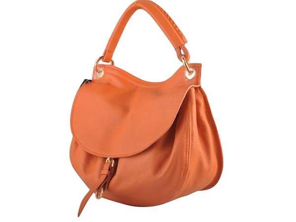 $723.46; Newest Knockoffs Miu Miu Flap Hobo Bags Nappa Leather 90323 Orange