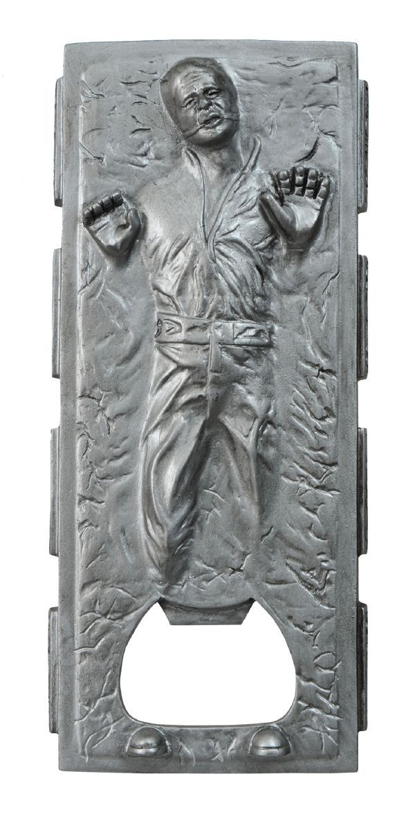 Star Wars Han Solo In Carbonite Bottle Opener Perfect For Getting Out Of Sticky Situations