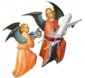 Ангелы-хранители автотранспорта и авиации. Если верить статистике, то авиаангел - расторопнее