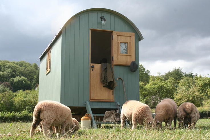 A Shepherd's Hut with Traditional Charm and Character