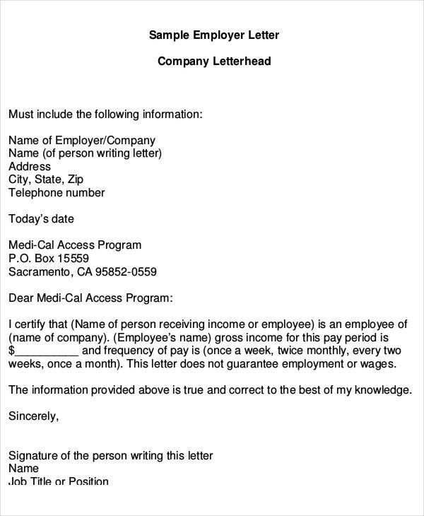 Proof Of Income Letter Lettering Letter Templates Formal