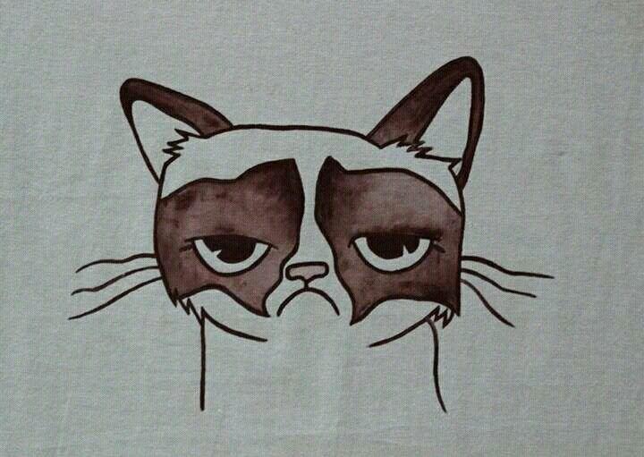 Grumpy Cat - I had fun once