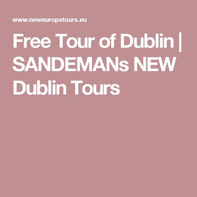 Free Tour of Dublin   SANDEMANs NEW Dublin Tours