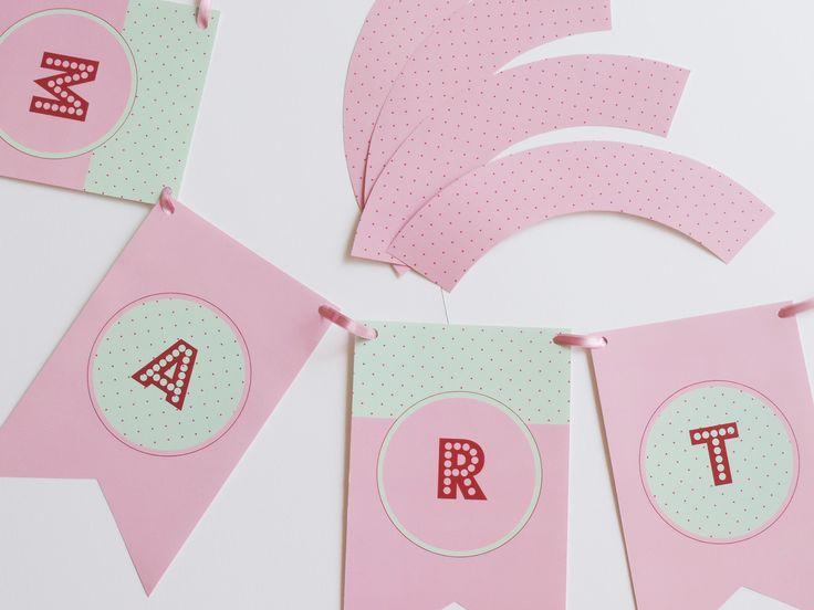 Banderines y Capacillos para Cupcakes para una gran Fiesta !