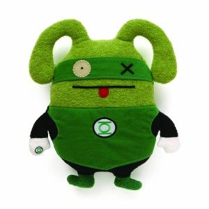 Uglydoll DC Comics – OX as Green Lantern GUND is proud to present the Uglydolls. They aren't afraid to be a little different and that is what makes them heroes in the first place. The  Ox doll is dressed like Green Lantern  So look for the unique versions of your favorite comic book superheroes. http://awsomegadgetsandtoysforgirlsandboys.com/gund-superhero/ Gund Superhero: Uglydoll DC Comics – OX as Green Lantern