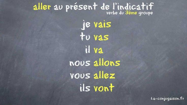 aller au présent de l'indicatif - La-conjugaison.fr