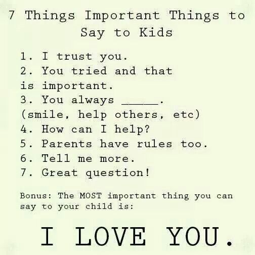I need to remember these!